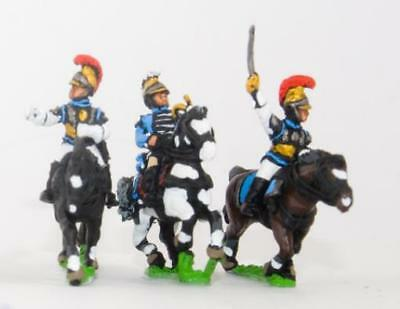 Essex Napoleonic M Carabinier Cavalry Command Pack - Officer, Standar Pack MINT