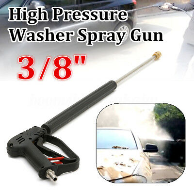 Industrial Power Pressure Washer Trigger Gun Extension Lance 3/8'' Quick Connect