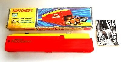 Vintage 1970's Matchbox Lesney Superfast ~ TA-4 PACEMAKER HAND BOOSTER ~ Boxed