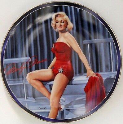 Bradford Exchange Marilyn Monroe QUITE A STRUDEL 5th Issue Collector Plate