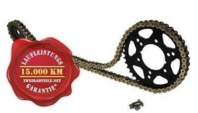 Chain Set 16 45 for Honda XRV 750 Africa Twin RD07 1993-2003 X-ring Gold
