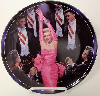 Marilyn Monroe I DON'T MEAN RHINESTONES 7th Issue Collector Plate , Bradford