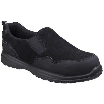 Amblers Safety Womens/Ladies Metal Free Slip On Safety Shoes