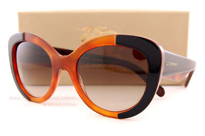 54552ac858d0 Brand New Burberry Sunglasses BE 4253 3650 13 Top Black on Amber Brown  Gradient