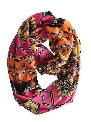 Women's Soft Warm Infinity Scarf Lightweight Circle Cable Loop Scarves Wrap