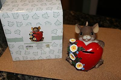 Charming Tails 'You Have Such A Kind Heart' Figurine 2010 Club Kit 40184181G NIB