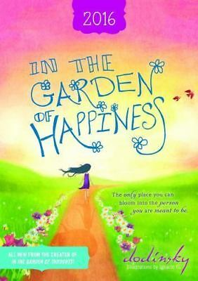NEW - 2016 In the Garden of Happiness Planner by Dodinsky