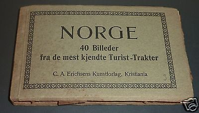 Vintage Norway Photos Booklet for Tourist ... very old circa 1920