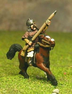 Essex Asiastic Hordes Alan 15mm Heavy Cavalry w/Half Armored Horse Pack MINT