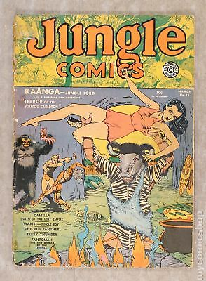 Jungle Comics (Fiction House) #15 1941 PR 0.5