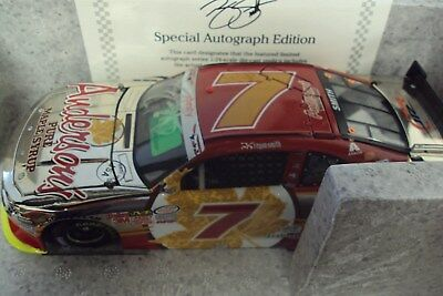 #7 Regan Smith 2015 Andersons Maple Syrup Autographed W/coa Color Chrome 1/24Th