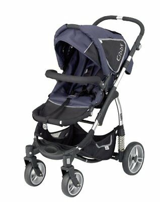 ✔ Kiddy Sport N Move Adjustable Stroller | Gray | Sunroof | New |Fast Shipping ✔