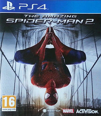Amazing Spider-Man 2 PS4 USED UK PAL Sony PlayStation 4 spiderman spider man