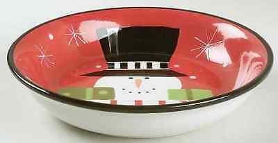 Certified International HOLIDAY SNOWMAN Presents Pasta Bowl 6316160