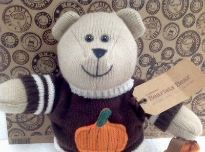 Starbucks Barista Bear Autumn 2009 NEW WITH TAGS Edition No. 85