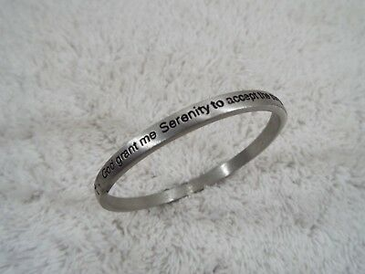 God Grant Me the Serenity to Accept the Things I Cannot Change... Bracelet (B37)