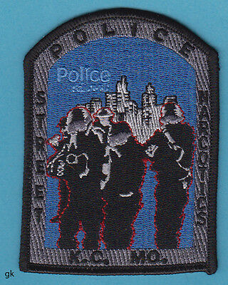 Kansas City Missouri Police Street Narcotics Drug Unit Patch