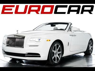 2017 Rolls-Royce Other Base Convertible 2-Door 2017 Rolls-Royce Dawn - DESIRABLE WHITE ON WHITE, STUNNING TEAK DECK!