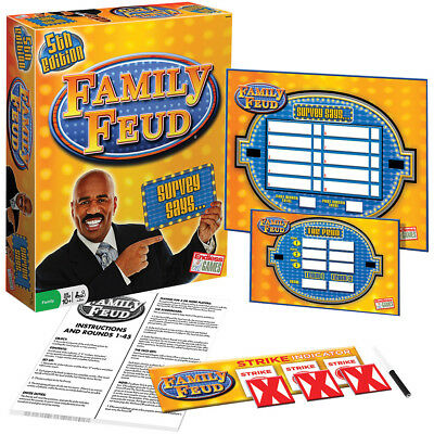 NEW Family Feud 5th Edition Board Game - Classic TV Show Survey Says Fun
