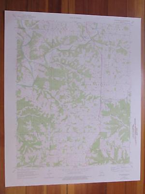 Highlandville Missouri 1976 Original Vintage USGS Topo Map