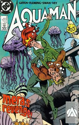 Aquaman (2nd Limited Series) #3 1989 VG Stock Image Low Grade
