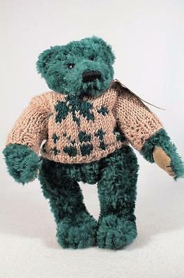 Boyds Bears Green 'McShamus O'Growler' Series With Growler-Lay Down Cry W/Tags!