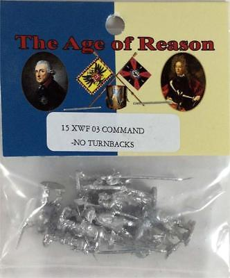 Blue Moon 7 Years French 15mm French Command - No Turnbacks Pack MINT