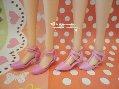 Doll Shoes - 2PAIRS Momoko Doll Heel shoes #S2161 NEW