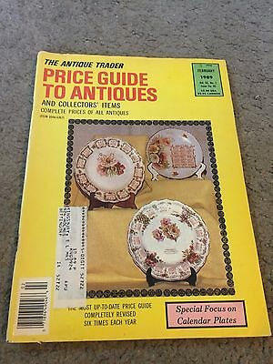 The Antique Trader Price Guide To Antiques Fall 1989 Magazine Vol. XX No. 1
