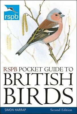 RSPB Pocket Guide to British Birds: Second Edition (Paperback), H. 9781408174562