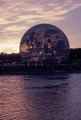 Expo 67 Montreal  United States Pavilion Buckminster Fuller dome: digital images