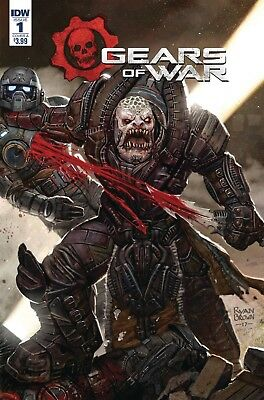 Gears Of War Rise Of Raam #1 Cvr A Brown - 1/24/18+