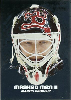 09 10 Between The Pipes Masked Men Ii Mask Silver Mm 08 Martin