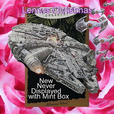 Hallmark Ornament, 1996 Millennium Falcon, Star Wars, New