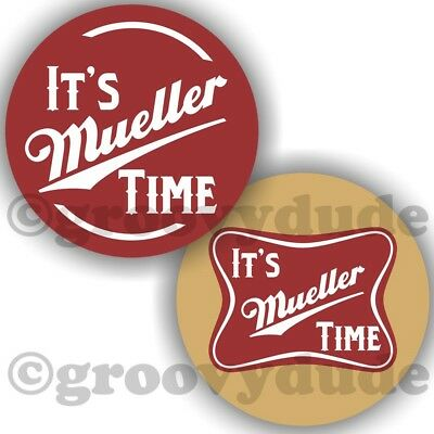 2 It's Mueller Time Anti President Donald Trump Pin Pinback Button Combo Lot
