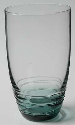 Mikasa SWIRL GREEN Highball Glass 8327301