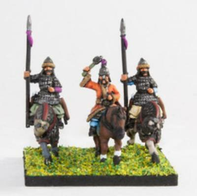 Essex Ancient Mini Mongols 1 Command Pack - Mounted General & Bodygua Pack MINT