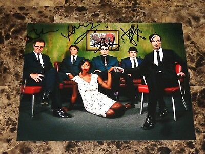Fitz and the Tantrums Rare Band Signed Autographed 8x10 Photo Noelle Scaggs COA