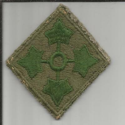 WW 2 US Army 4th Infantry Division Patch Inv# B214