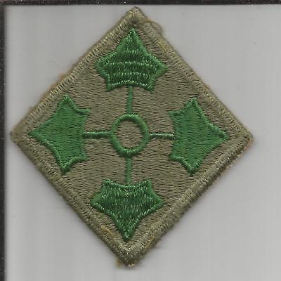 WW 2 US Army 4th Infantry Division Patch Inv# B215