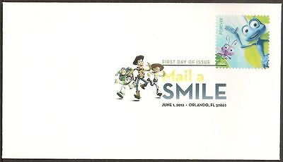 US 4677 Disney Pixar Mail a Smile A Bug's Life DCP FDC 2012