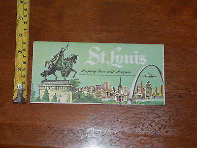 Brochure Old Vintage St Louis Keeping Pace With Progress Southwestern Bell
