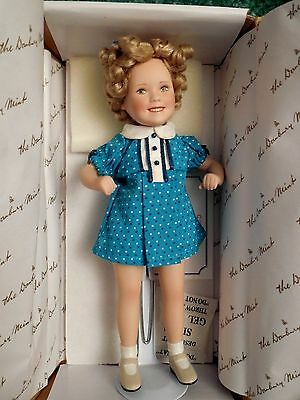 "Shirley Temple Doll - ""baby Take A Bow""  Movie Memories Danbury Mint"