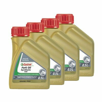 Castrol Road/Off Road Bike 5W Fully Synthetic Fork/Suspension Oil/Fluid - 2L