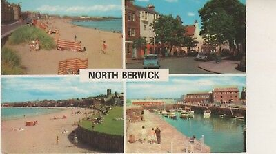 North Berwick Multi-view postcard. GC. Written on (date) but unposted