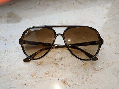 Ray Ban RB4125 710/A6 Cats5000 Sonnenbrille verglast AKBeELB