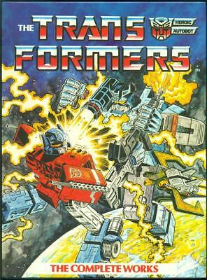 TRANSFORMERS The Complete Works  NEAR MINT  MARVEL COMICS 1-4  HC GRAPHIC NOVEL