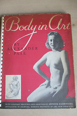 Alexander Paal. Body in Art (New York, 1947) Photographs of female nudes