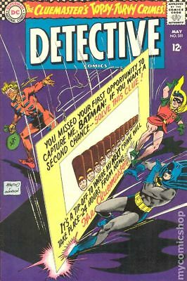 Detective Comics (1st Series) #351 1966 GD/VG 3.0 Stock Image Low Grade