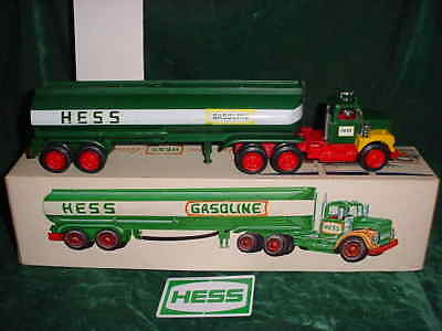 1972 Rare Marx Christmas Collectible  Hess Trucks 1972 Toy Tanker Truck Toy